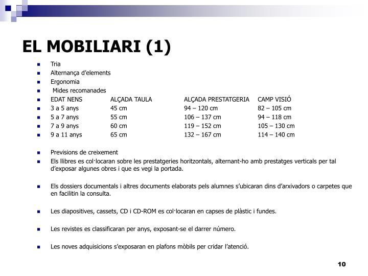 EL MOBILIARI (1)