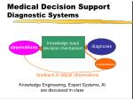 medical decision support diagnostic systems