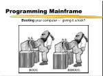 programming mainframe1