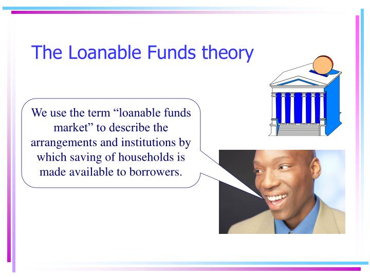 the loanable funds theory n.