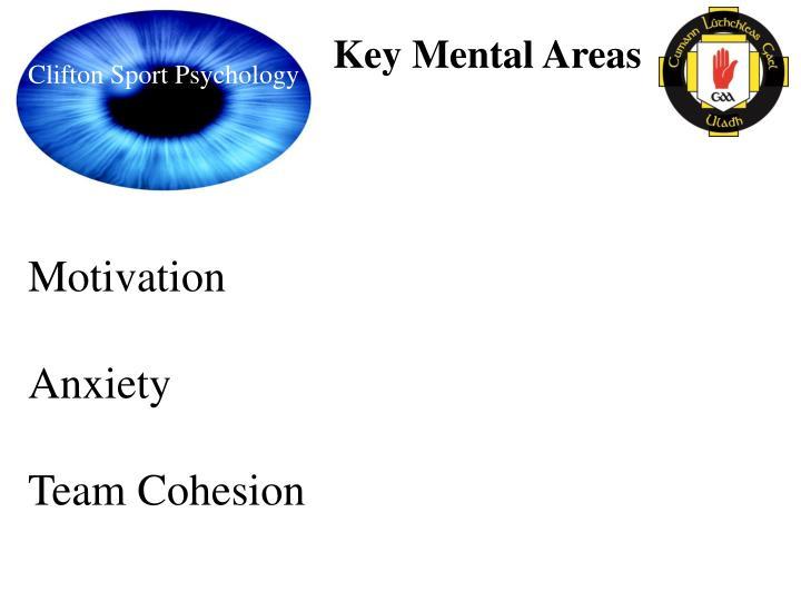 Key Mental Areas