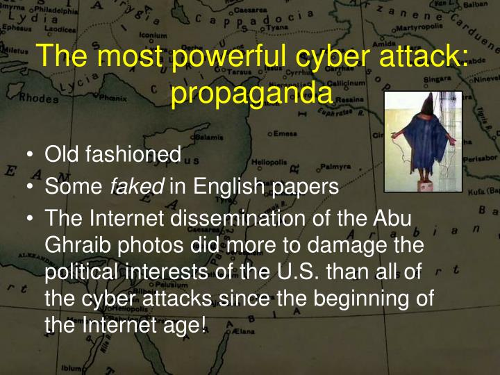 The most powerful cyber attack: