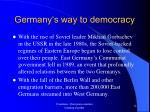 germany s way to democracy11