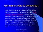 germany s way to democracy12
