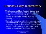 germany s way to democracy16