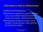 germany s way to democracy18