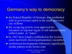 germany s way to democracy3