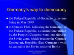germany s way to democracy4