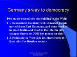 germany s way to democracy8