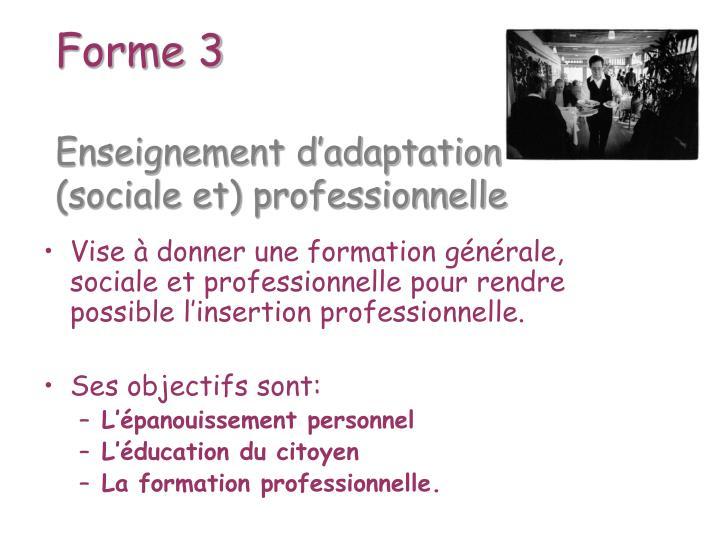Forme 3