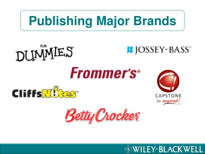 Publishing Major Brands