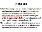 35 usc 284