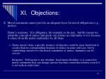 xi objections1