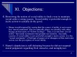 xi objections2