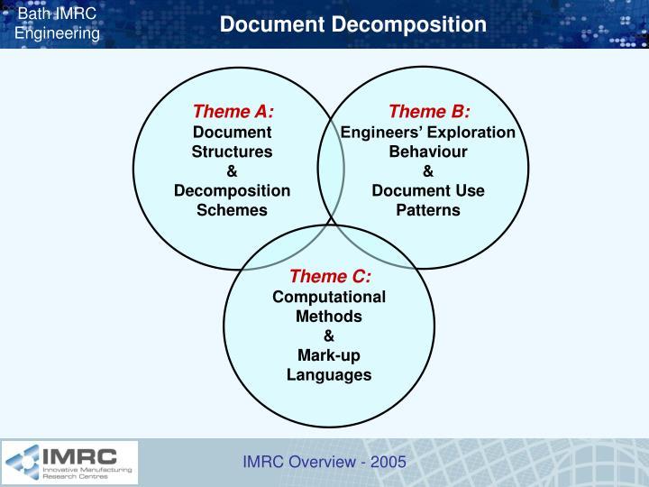 Document Decomposition