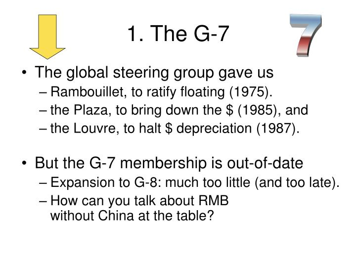 1. The G-7