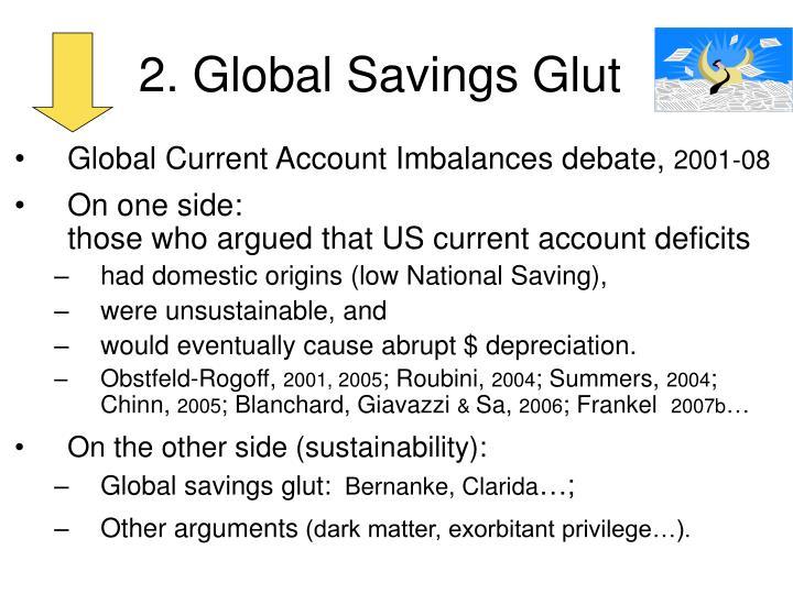 2. Global Savings Glut