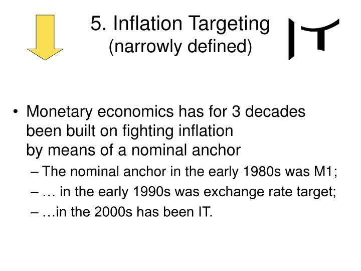 5. Inflation Targeting