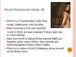 khloe kardashian odom 25