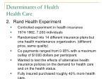 determinants of health health care6