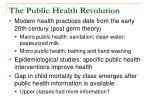 the public health revolution