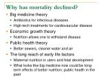 why has mortality declined