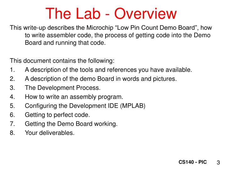 The lab overview1