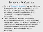 formwork for concrete1