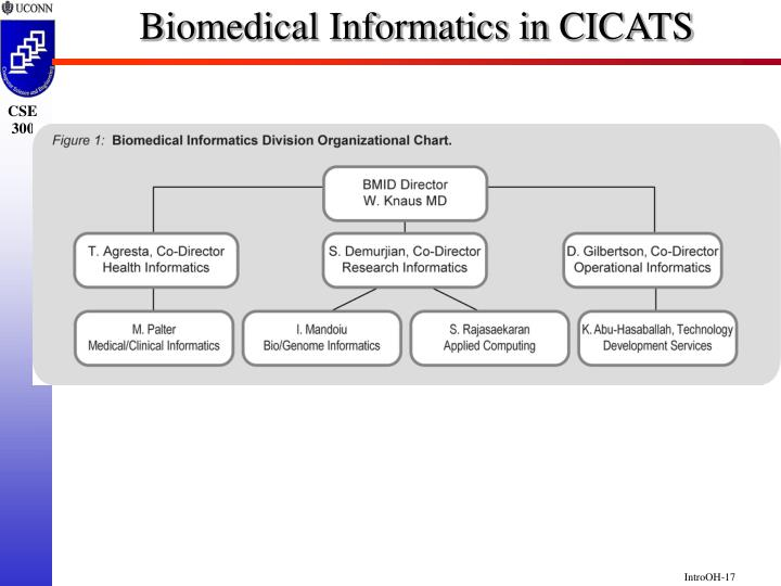 Biomedical Informatics in CICATS