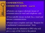 confidential communication cont d1