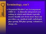 terminology con t2