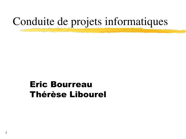 Eric bourreau th r se libourel