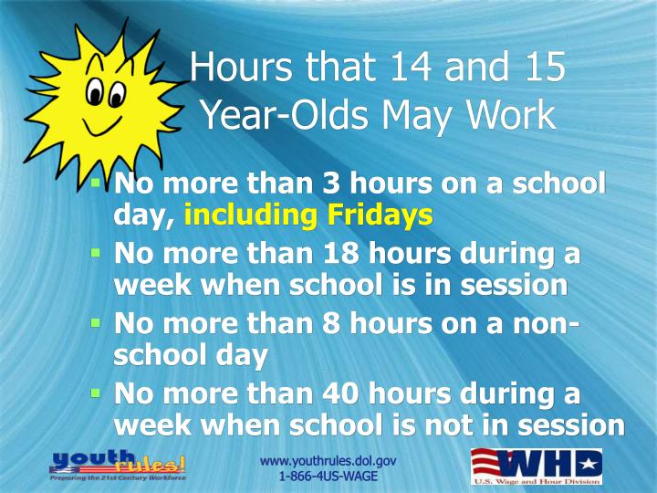 Hours that 14 and 15