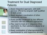 treatment for dual diagnosed patients