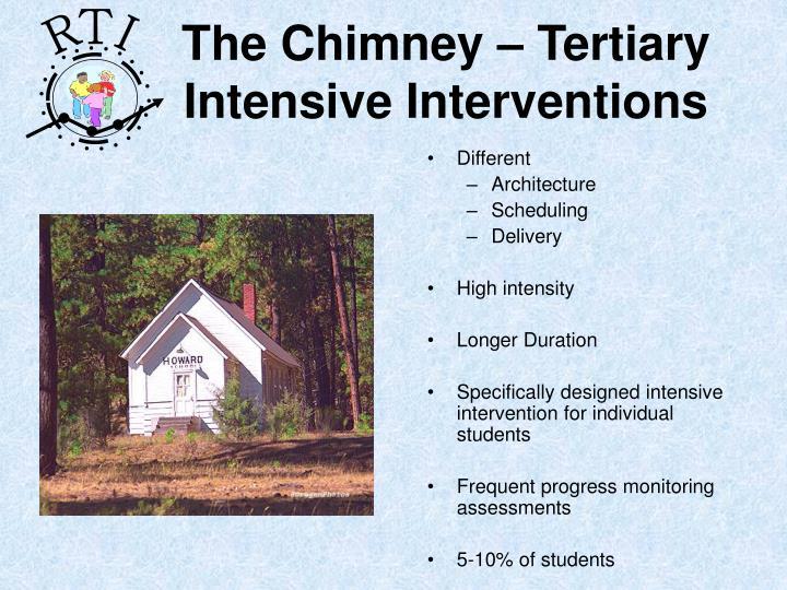 The Chimney – Tertiary