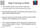 map coloring in math