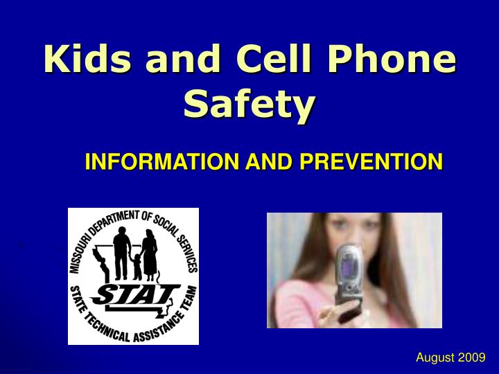 kids and cell phone safety n.