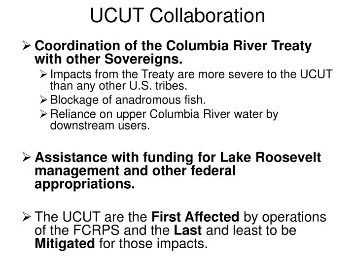 UCUT Collaboration