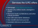 services the ilrc offers