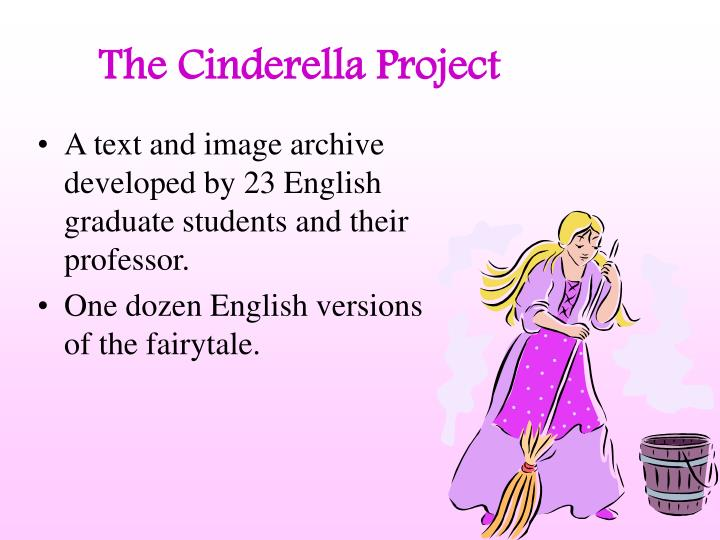 The cinderella project1
