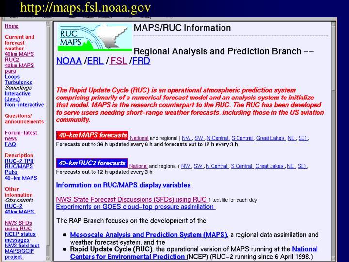 http://maps.fsl.noaa.gov