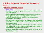 6 vulnerability and adaptation assessment cont1
