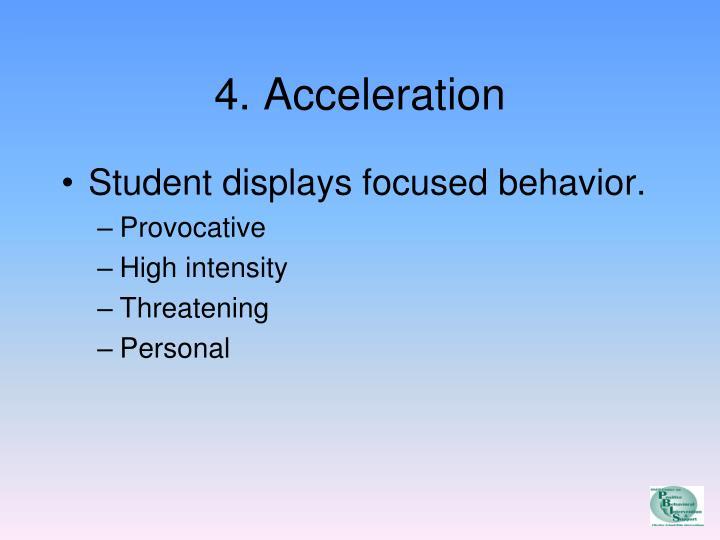 4. Acceleration