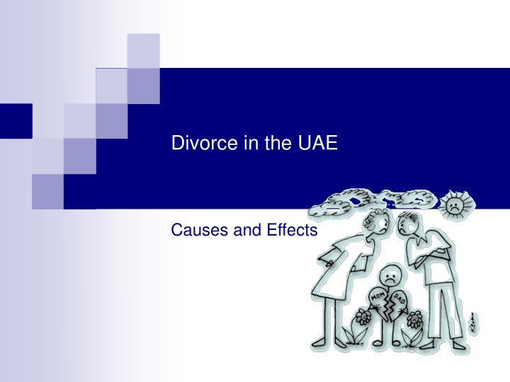 Divorce in the UAE