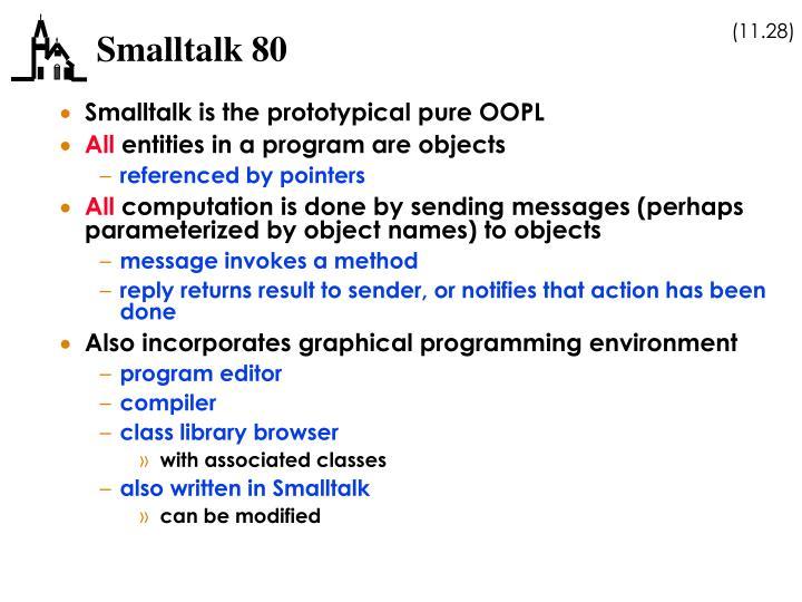 Smalltalk 80