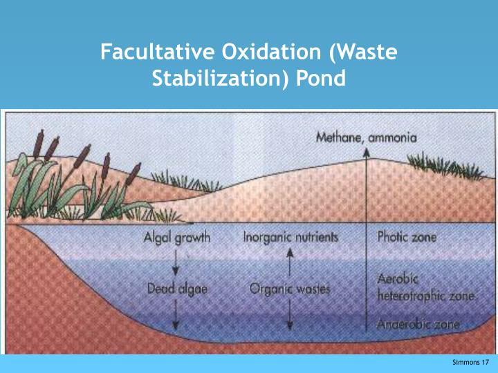 Facultative Oxidation (Waste Stabilization) Pond
