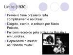 limite 1930