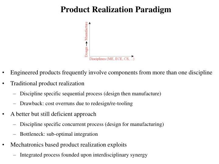 Product Realization Paradigm
