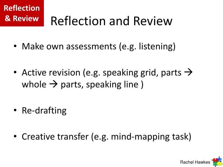 Reflection & Review
