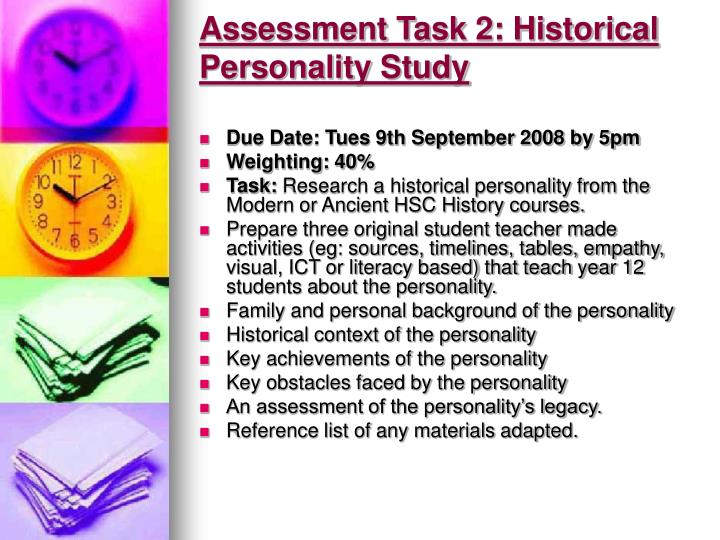 Assessment Task 2: Historical Personality Study